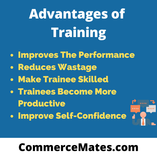 Advantages of Training