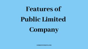 Features of Public Limited Company