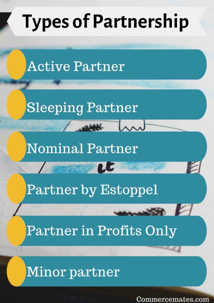 Types of Partnership in Business