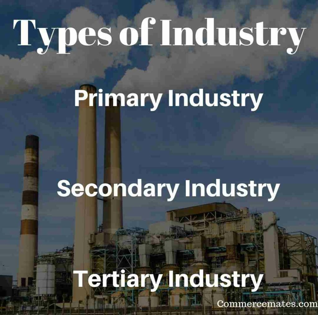 Meaning of Industry and Its Types