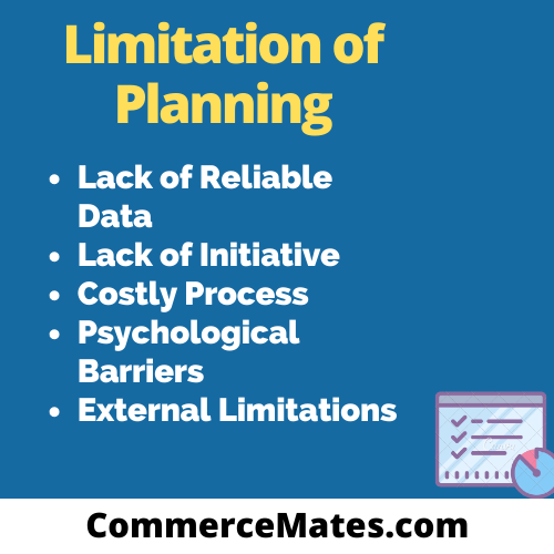 Limitation of Planning