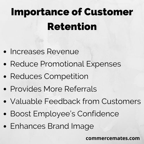 Importance of Customer Retention