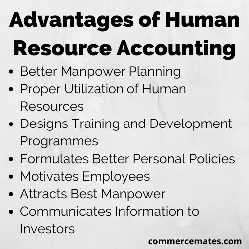 Advantages of Human Resource Accounting