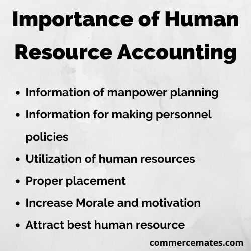 Importance of Human Resource Accounting