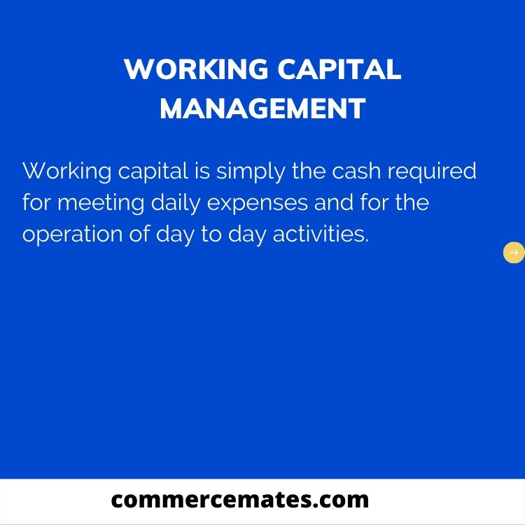 Importance of Working Capital Management-2