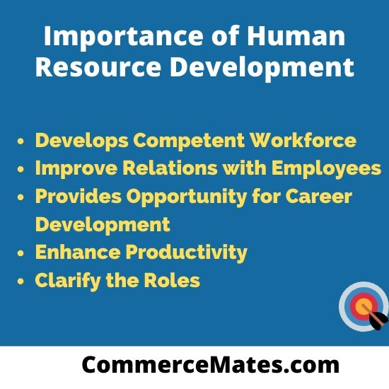 Importance of Human Resource Development