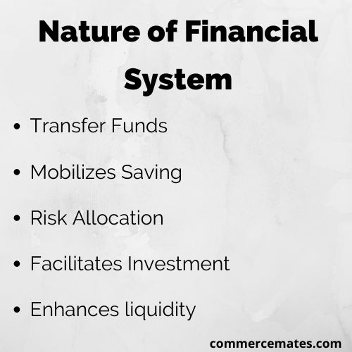 Nature of Financial System