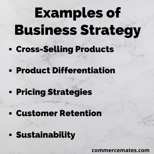 Examples of Business Strategy