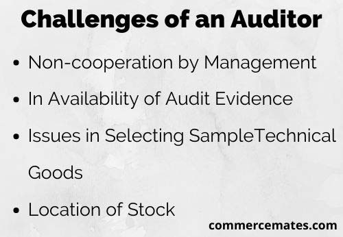 Challenges of an Auditor