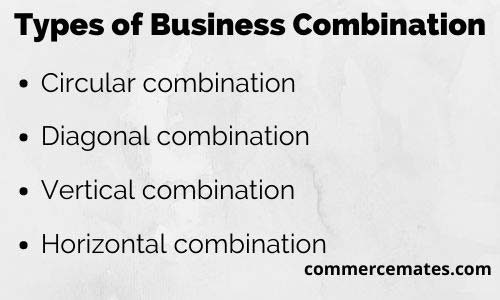 Types of Business Combination