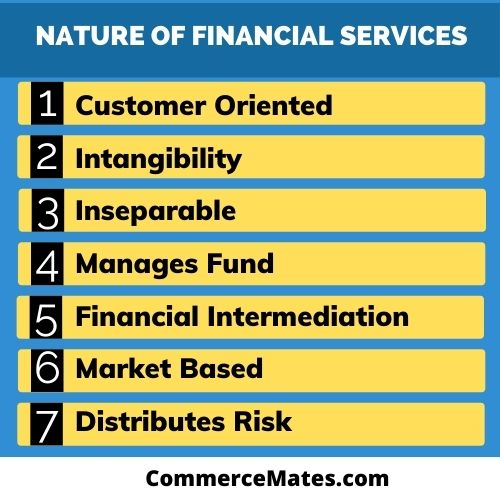 Nature of Financial Services