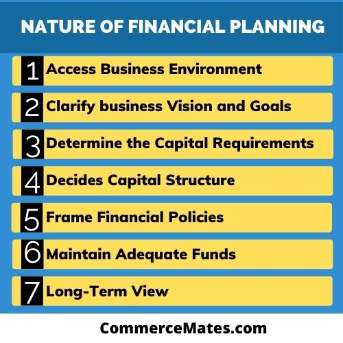Nature of Financial Planning