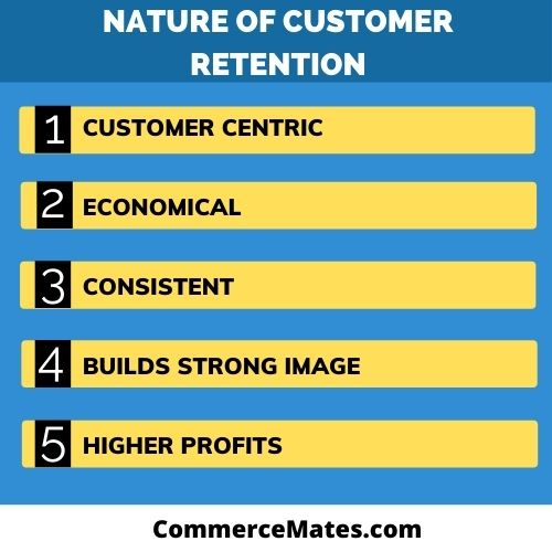 Nature of Customer Retention