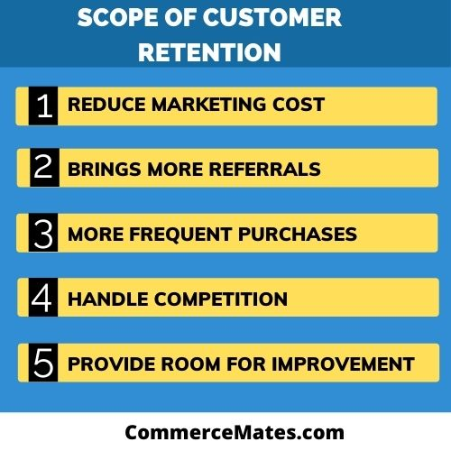 Scope of Customer Retention