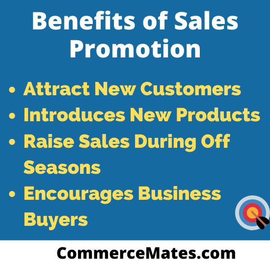 Benefits of Sales Promotion