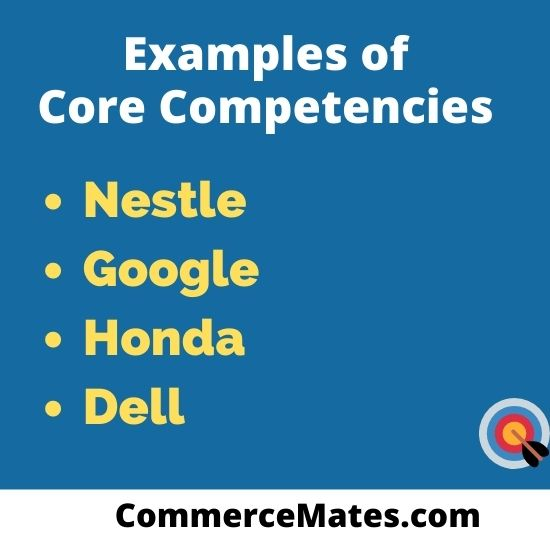 Examples of Core Competencies