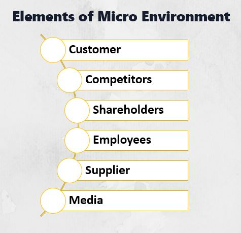 Elements of Micro Environment